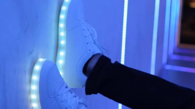 chaussures lumineuses meilleures